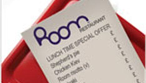 Room Restaurant: pay what you want for main courses