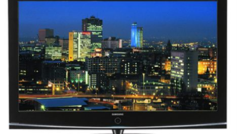 "Win a HUGE Samsung 50"" Plasma TV"