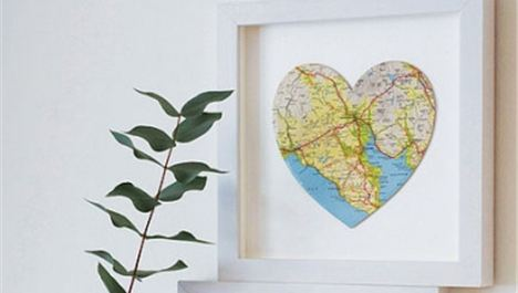 Heart-shaped maps
