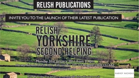 Relish Yorkshire launches 2011 edition