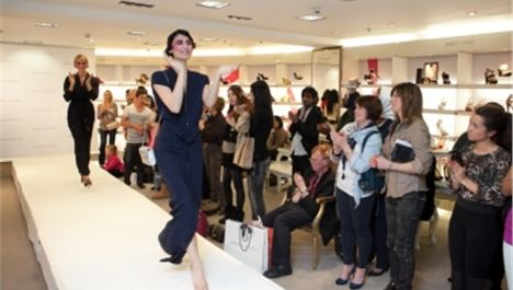 Harvey Nichols' fashion show
