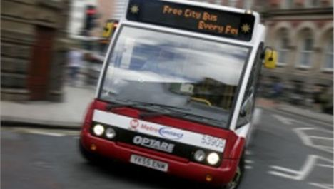 'Free' city centre bus to charge 50p
