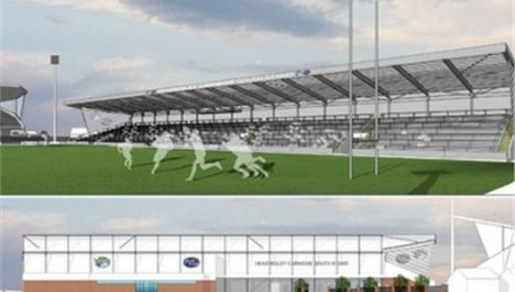 Leeds Rhinos unveils South Stand plans