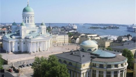 Helsinki: great clothed or naked