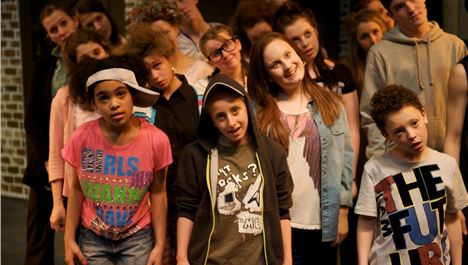 North West Youth Theatre School's Streetz Musical