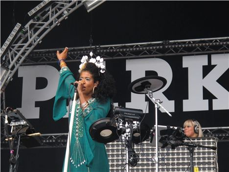 Kelis at Parklife 2012