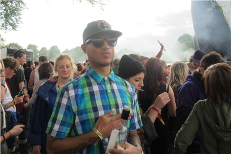 Strategy of Broke N English at Parklife 2012
