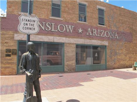 Winslow Arizona, Tourist Trap
