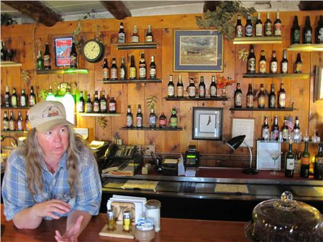 Barmaid At The Lees Ferry Lodge