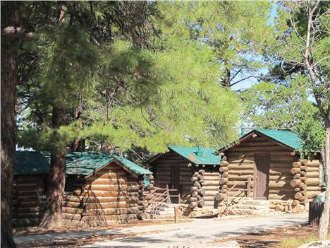 Pioneer Cabins At The North Rim