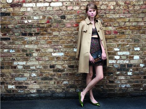 The latest looks from Topshop for a/w 2012