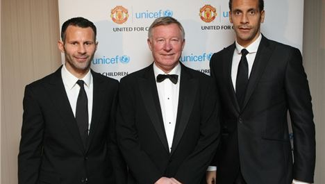 Win Tickets To The Manchester United UNICEF Gala Dinner 2012