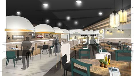 The Grain Loft Opens At Manchester Airport